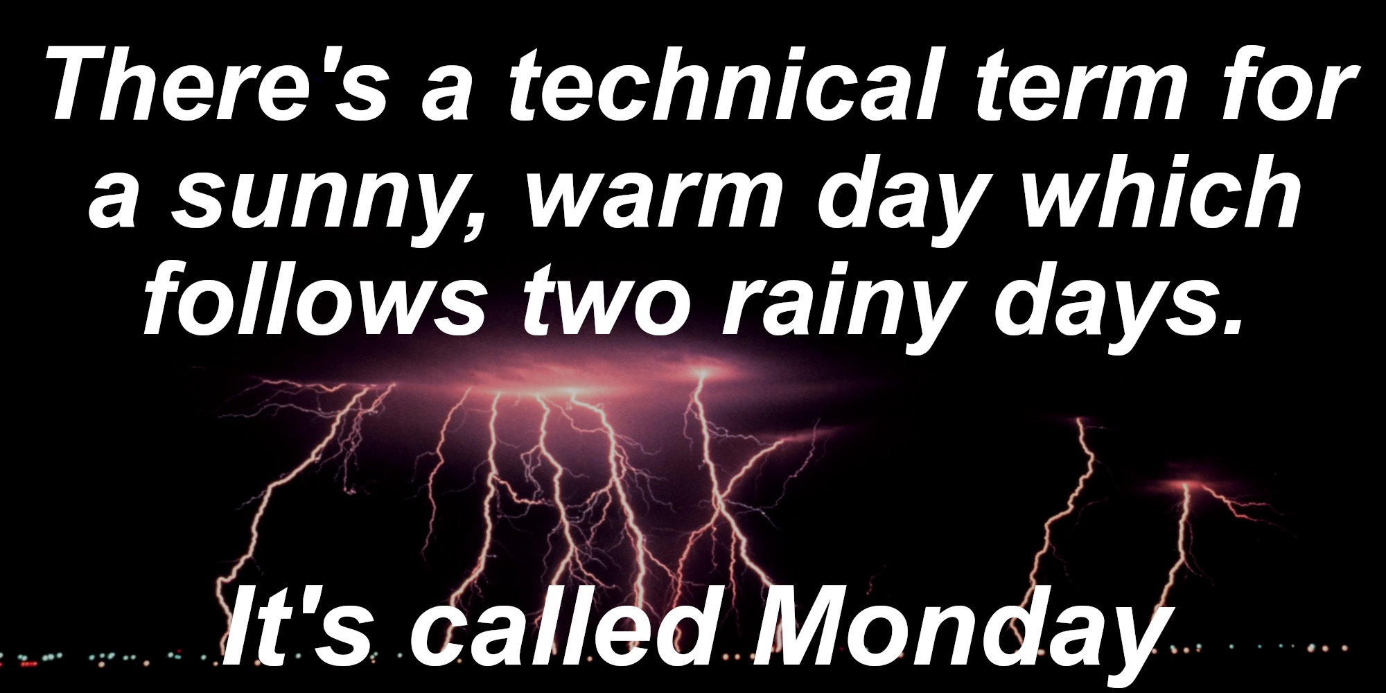 Weather Jokes