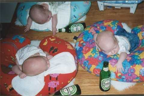 drunk babies picture caption