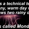 One Liner Weather Jokes
